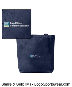 Cotton Tote with RRCT logo Design Zoom