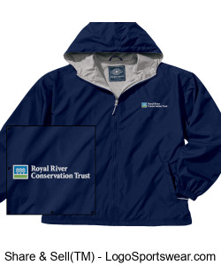 Jersey lined Jacket with RRCT Logo Design Zoom